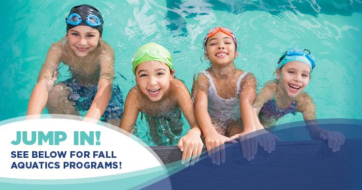 Fall Aquatics Registration Opens Soon